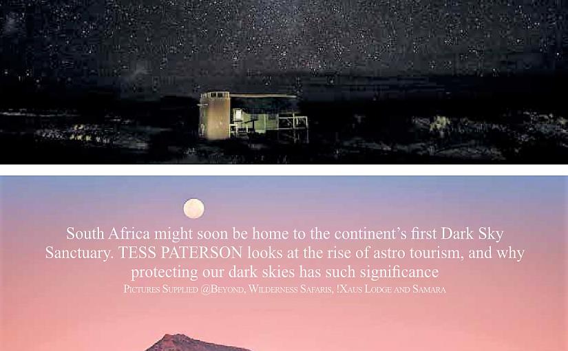 Dark Sky Sanctuary – Southern Africa proposal